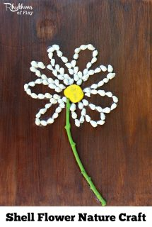 Shell Flower Nature Craft