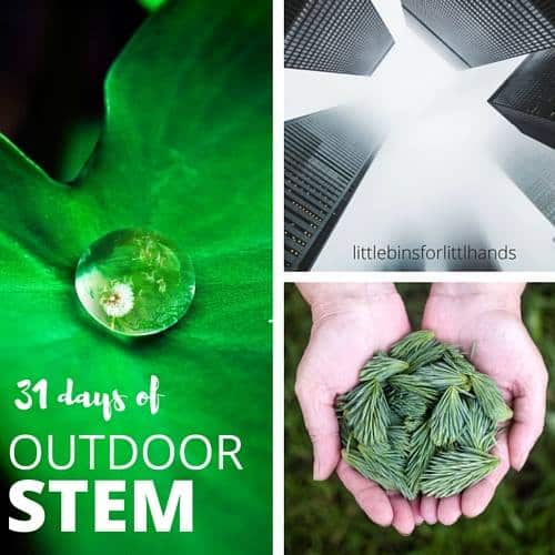 Outdoor STEM | Science experiments for kids