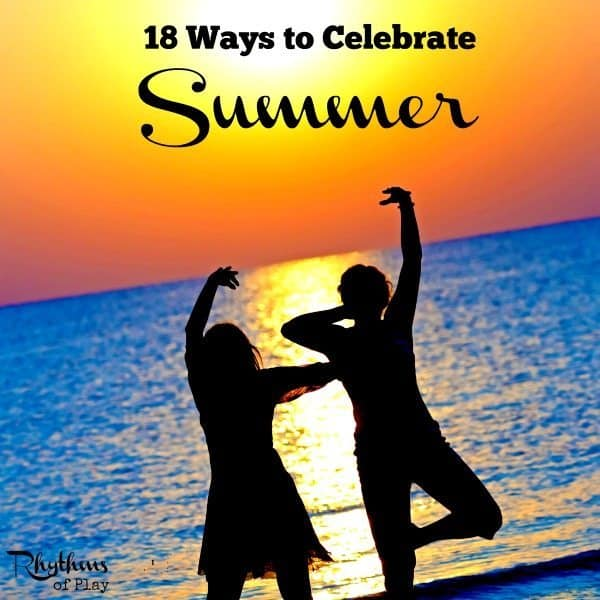 Celebrate the summer solstice and the arrival of summer with these fun ideas! The summer solstice typically occurs between the 20th and 22nd of June in the Northern Hemisphere while it falls between the 20th and 22nd of December in the Southern Hemisphere. Links to winter solstice ideas for those celebrating the winter solstice are included. Celebrate Summer | Summer Ideas | Summer Activities