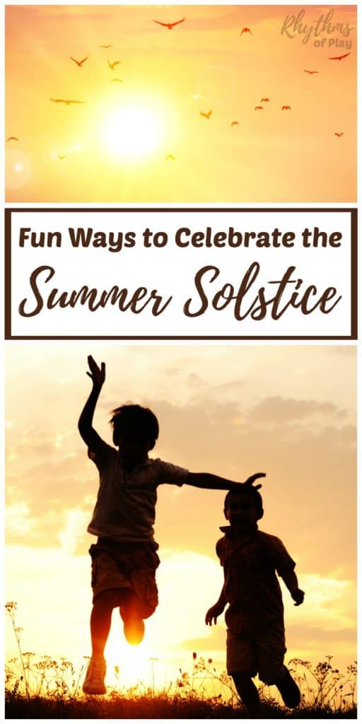 Celebrate the summer solstice with these summer activities, crafts, and other fun ideas!
