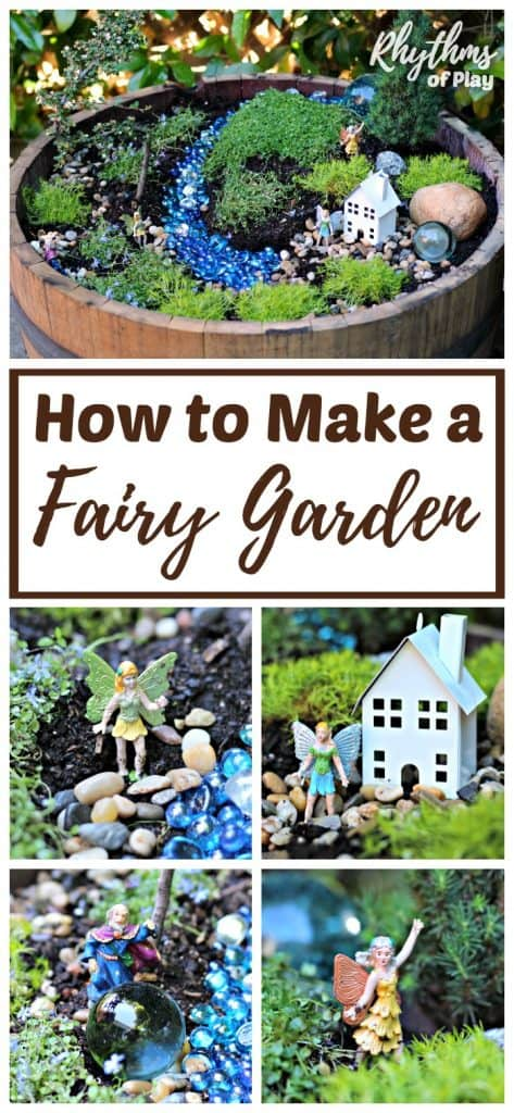 How to start a fairy garden step by step tutorial