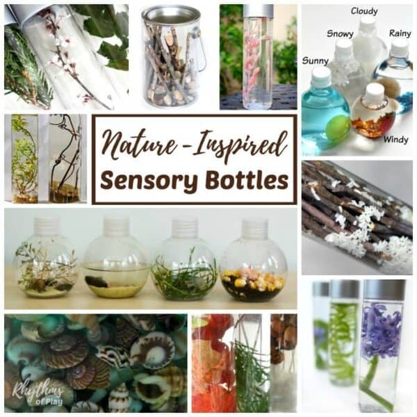 Nature Inspired Sensory Bottles