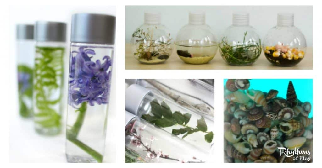 Nature Inspired Sensory Bottles Rhythms Of Play