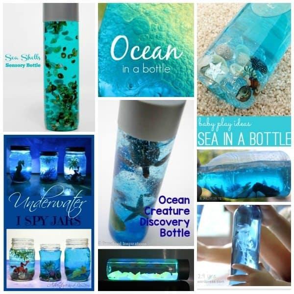 Ocean sensory bottles