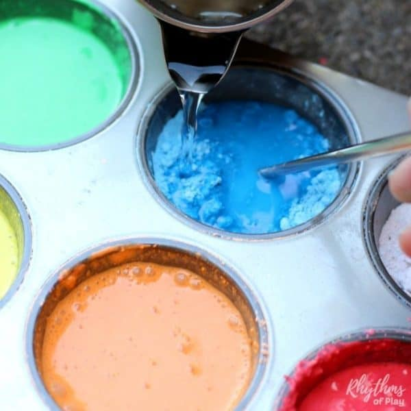 recycled DIY chalk paint recipe