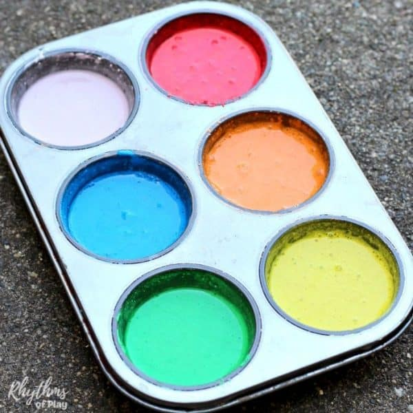 chalk paint recipe for outdoor art
