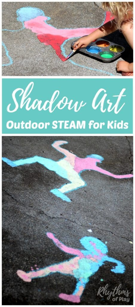 shadow art science for kids