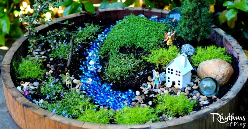 Start Your Own Fairy Garden Rhythms of Play