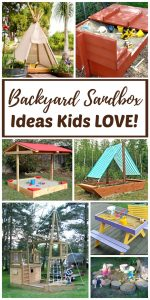 Top 10 Backyard Sandbox Ideas