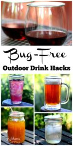 Bug-Free Outdoor Drink Hacks