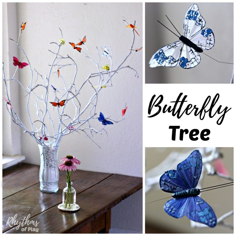 How to make a butterfly tree