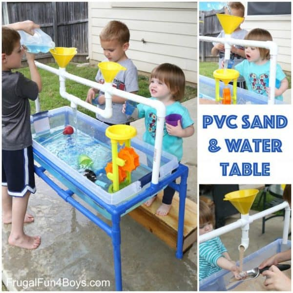 PVC Sand and Water table for kids