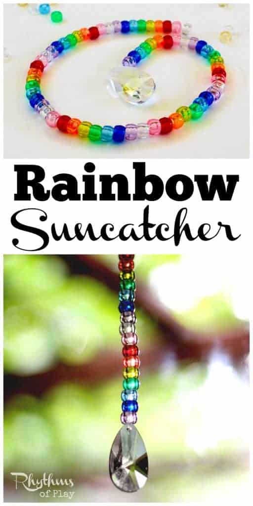 Rainbow Pony Bead Prism Suncatcher Rhythms Of Play