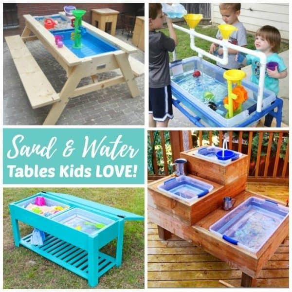 Diy Sand Water Tables Kids Love Sensory Play Areas For