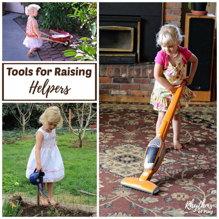 Help children develop self-confidence and independence to become the helper you need with their own tools. Children want to be just like their parents and caregivers doing chores, working, and using tools. Give children the tools they need to become the helpers they were born to be!