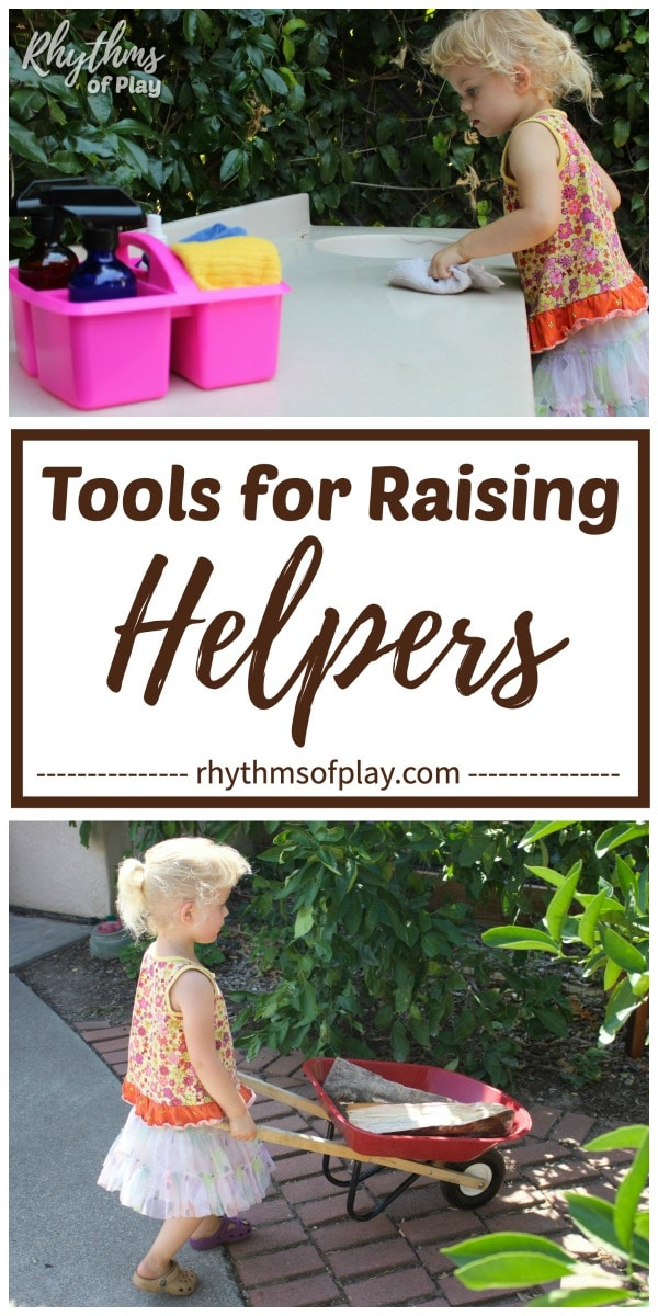 best tools for kids - tools for raising kids that help with the chores