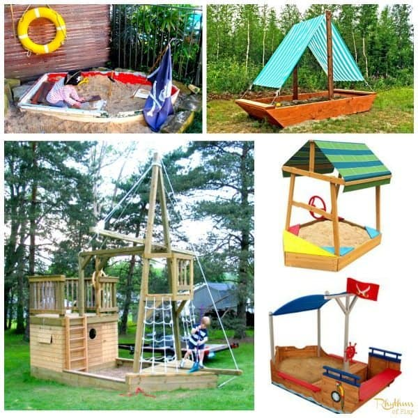 top 10 backyard sandbox ideas boats - Sandbox Design Ideas