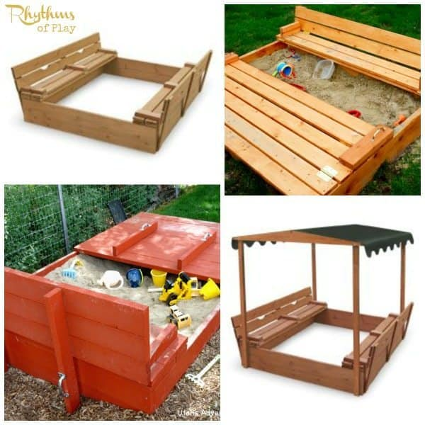 top 10 backyard sandbox ideas convertible - Sandbox Design Ideas