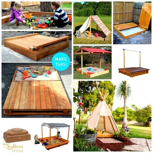 Top 10 Backyard Sandbox Ideas Covered