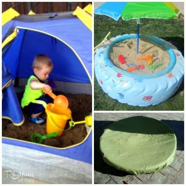 Top 10 Backyard Sandbox Ideas Hacks