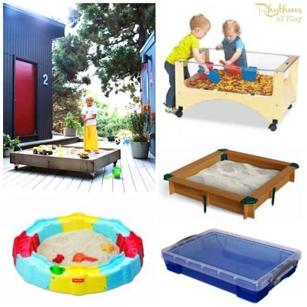 Top 10 Backyard Sandbox Ideas Portable
