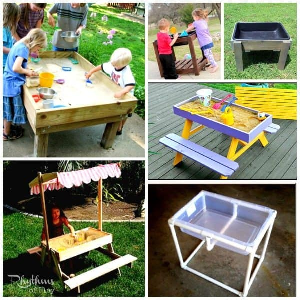 top 10 backyard sandbox ideas sand tables - Sandbox Design Ideas