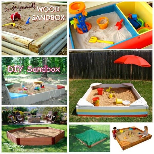 top 10 backyard sandbox ideas simple - Sandbox Design Ideas