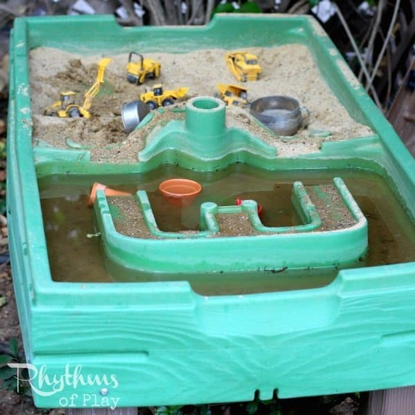step 2 sand and water table for kids
