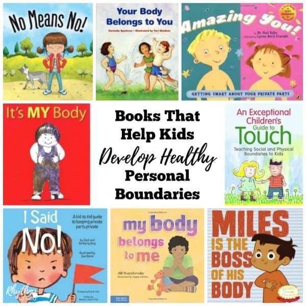 Books That Help Kids Develop Healthy Personal Boundaries Rhythms