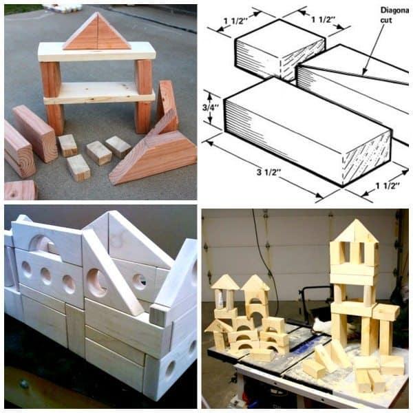 DIY Blocks Basic Wood
