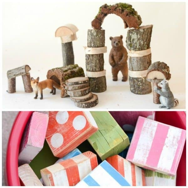 DIY Blocks Natural and Outdoor