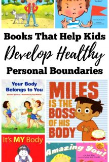 Books That Help Kids Develop Healthy Personal Boundaries