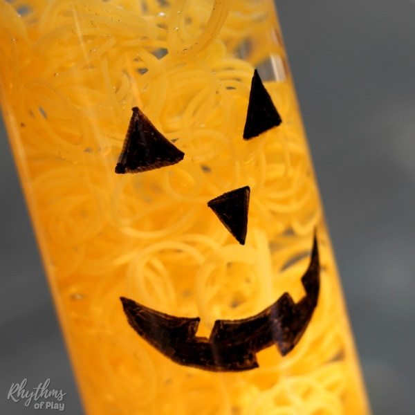 Glowing Jack o' Lantern Halloween Pumpkin