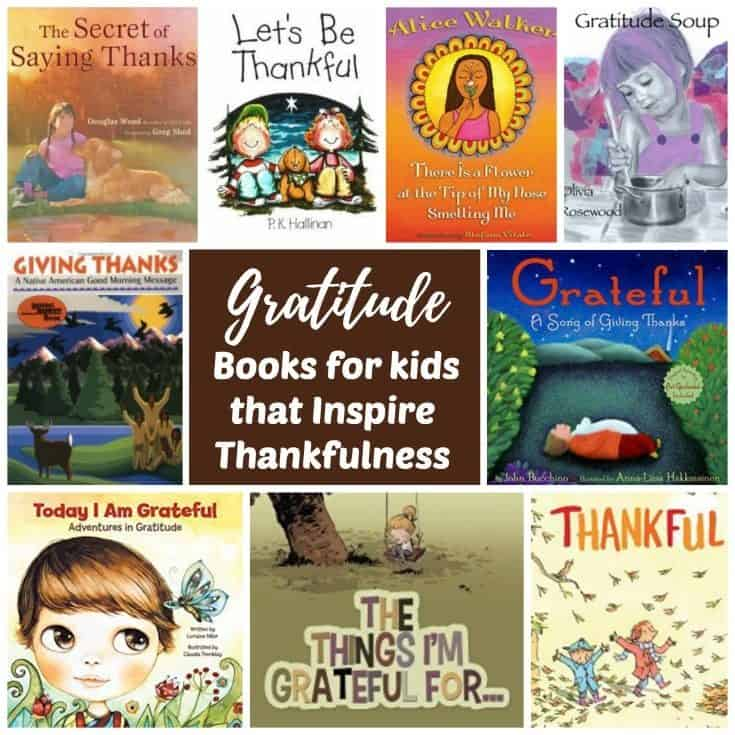 During Thanksgiving and the holidays is when most families approach the concept of gratitude, but it is important to share these simple lessons throughout the year. Reading Gratitude books for Kids with your children is an easy way to cultivate and encourage thankfulness in children. Each of these books provides simple lessons for nurturing gratitude in the home year round. Reading them with your kids is an effective way to inspire thankfulness every day. Parent resources for raising grateful kids are also included.