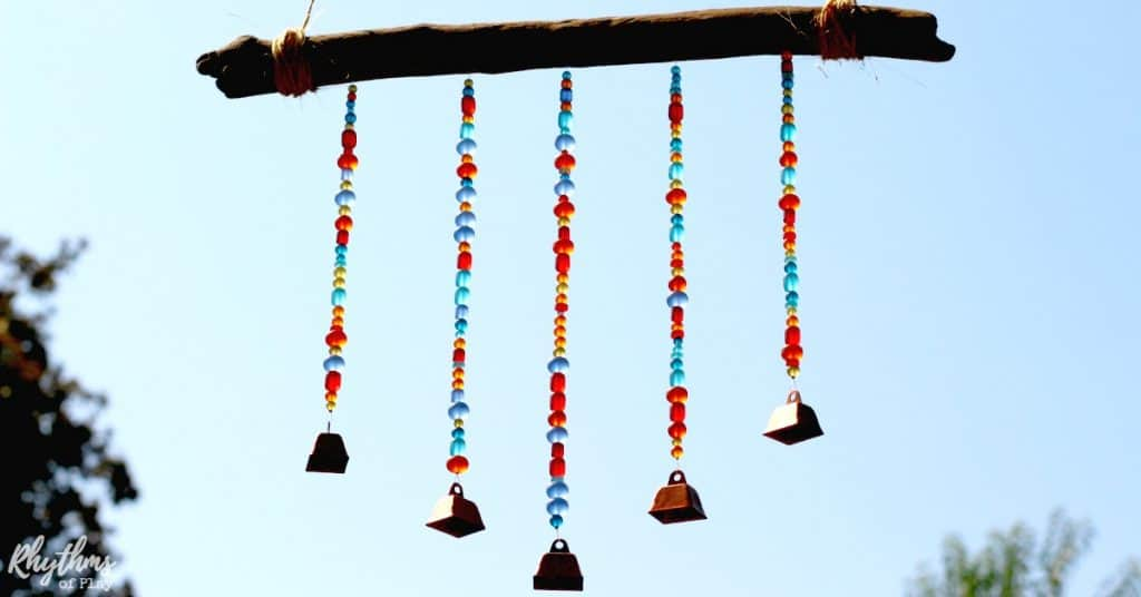 DIY Sea Glass Wind Chime Suncatcher fb1