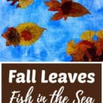 Fall Leaves Fish Nature Craft for Kids