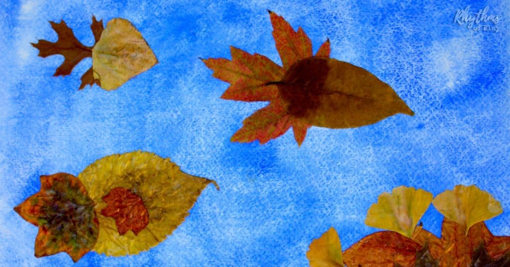 fall-leaves-fish-nature-craft