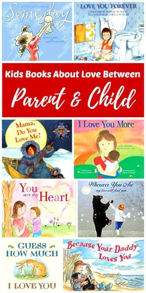 Reading the best kids books about love between parent and child with our children is an easy way to share the unconditional love that we have for our them. These classic books will make it clear that we love them no matter what they do using simple lyrics and stories that we can all relate to.