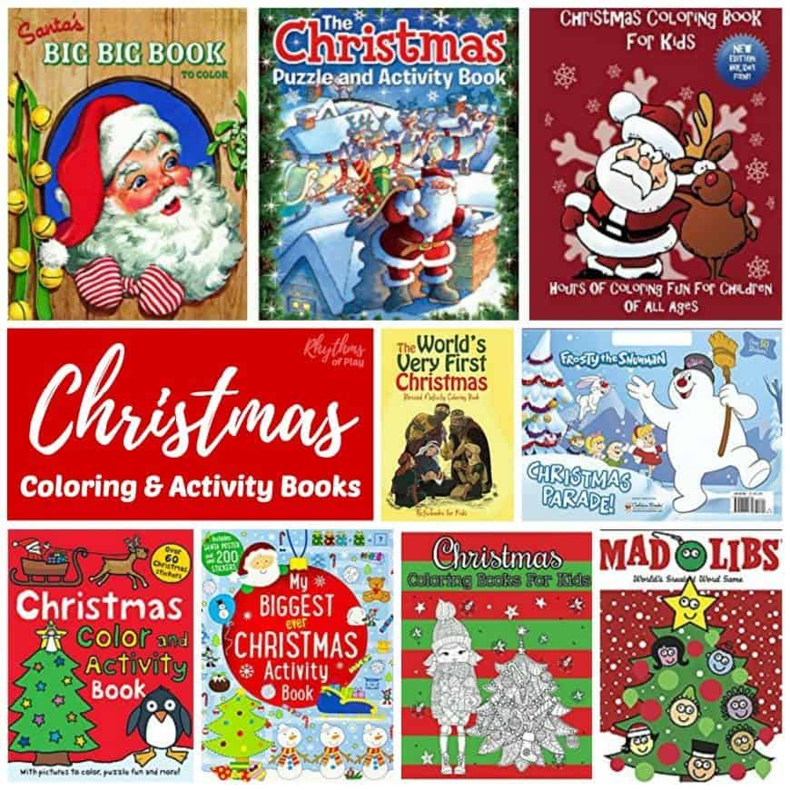 christmas coloring activity books for kids 870sq1 - Best Christmas Books