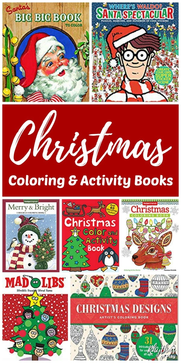 photograph about Home and Family Christmas Workbook named Simplest Xmas Coloring and Sport Publications for Little ones, Teenagers