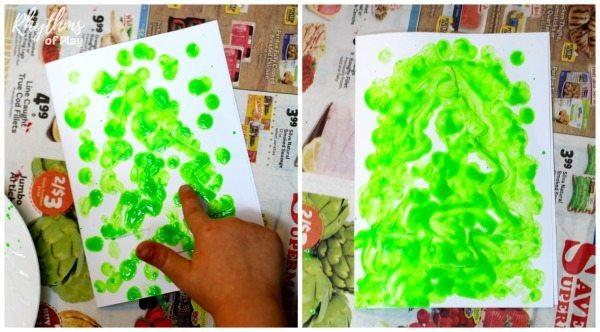 reverse-fingerprint-christmas-tree-card-process