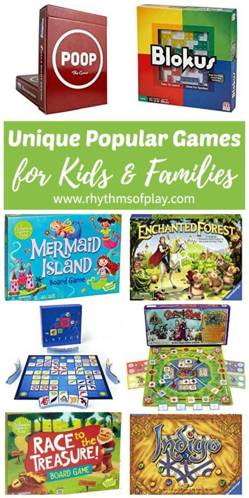 pictures of the best board games for kids and families that even parents will love!