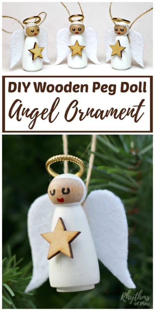 DIY Angel Ornaments Christmas Decor