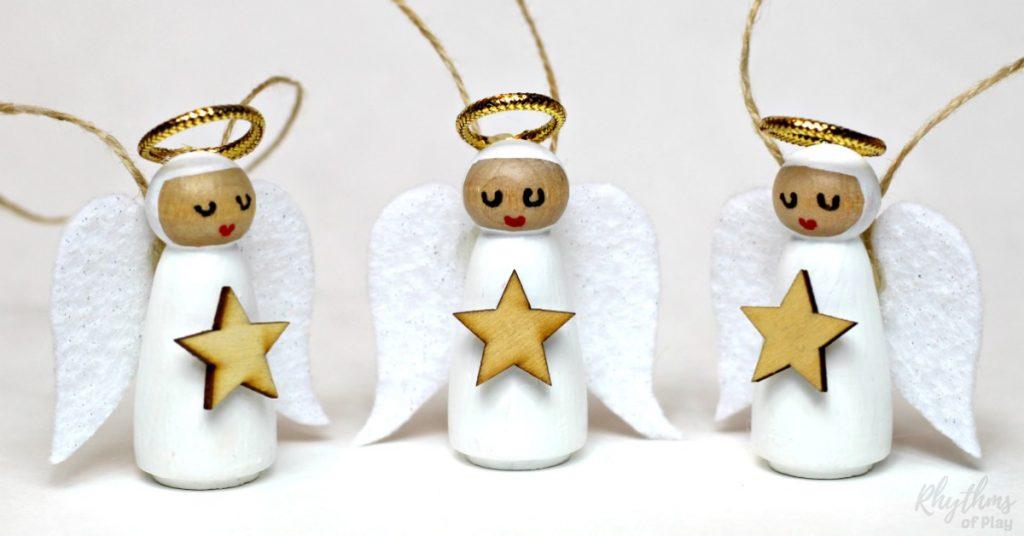 Christmas Peg Craft