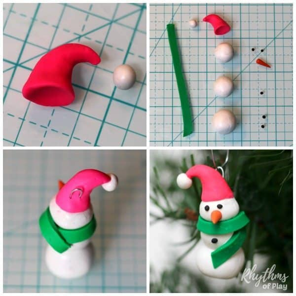 polymer-clay-snowman-ornament-cap-and-scarf-sq