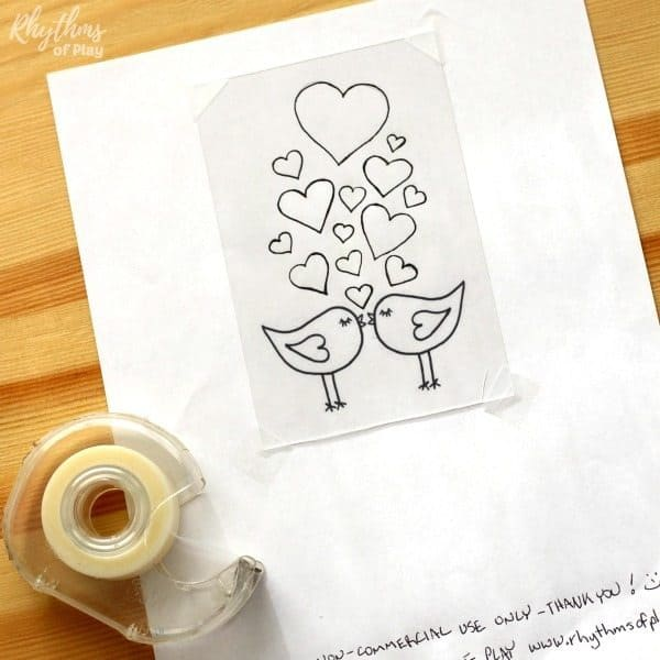 free love bird printable template