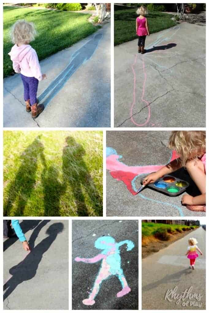 Fun and educational shadow activities are a hands-on way for kids to learn about the sun and the science of light. These interactive outdoor shadow activities for toddlers, preschoolers, kindergartners, and elementary aged kids are perfect for groundhog day and year round fun!