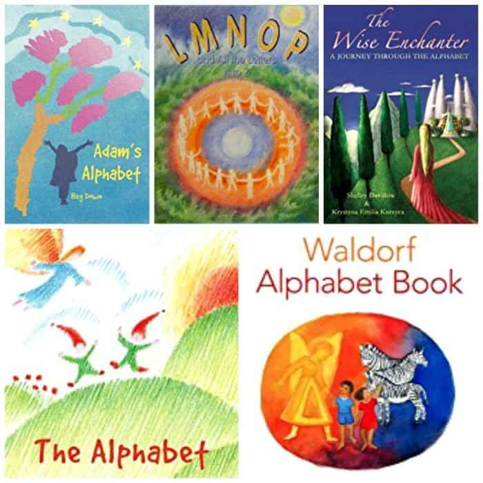 Waldorf alphabet books are read to a young child to engage the imagination and bring the ABC's to life. The books listed are for preschoolers and up. The fairy tale like stories will help a child develop an intimate relationship with each letter of the alphabet. It is believed that reading these beautiful books and magical tales will help unlock the keys to the written word and prepare a child to read.