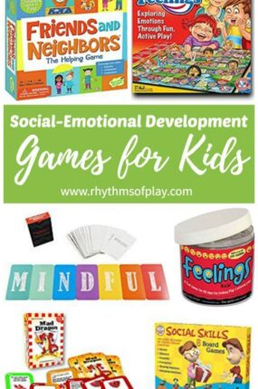 Social-emotional development games for kids