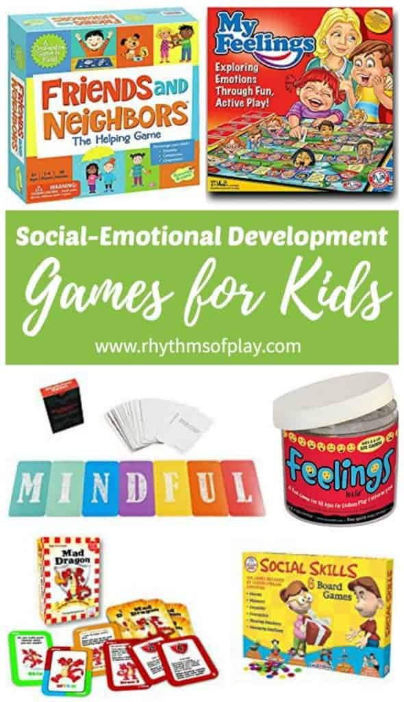 Social-emotional development games for kids